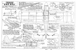 VeronBeeBug model airplane plan