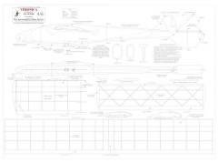 Veronica CAD Hogal model airplane plan