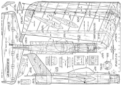 Veto 19 Aldrich model airplane plan