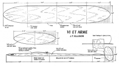 Vi et arme model airplane plan
