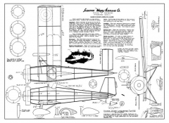 Vickers Jockey model airplane plan
