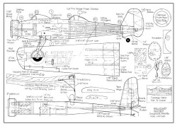 Vickers Wellesley model airplane plan