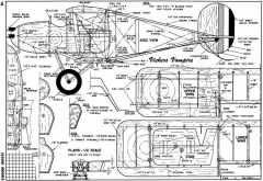 Vickers Vampire model airplane plan