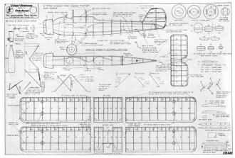 Vickers Vildebeest model airplane plan