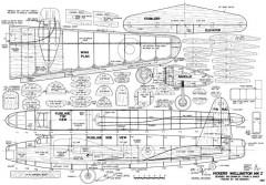 Vickers Wellington MKI model airplane plan
