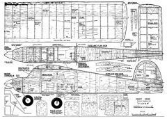 Victor model airplane plan