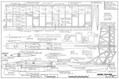 Vindicator model airplane plan