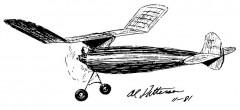 Virginia Champ model airplane plan