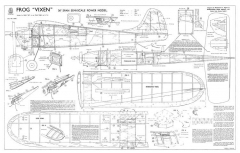 Vixen model airplane plan