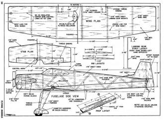 Voltroliner model airplane plan