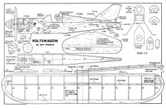 Voltswagon model airplane plan