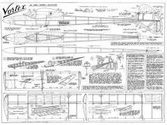 Vortex model airplane plan