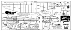 Vought V-143 2 model airplane plan