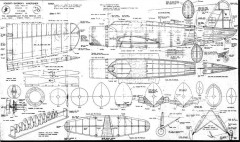 Vought-Sikorsky Kingfisher model airplane plan