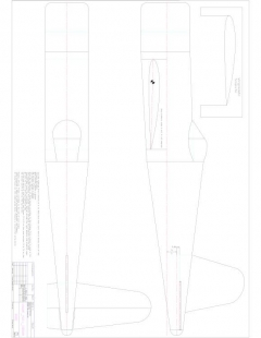 Vought F4U4 Corsair p1 Layout1 1 model airplane plan