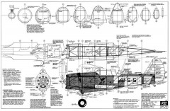 Vought SBU-1 model airplane plan