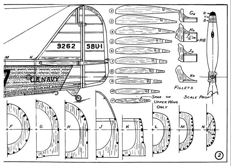 Vought SBU-1 p3 model airplane plan