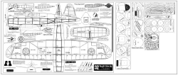 Vought Sikorsky 32in model airplane plan
