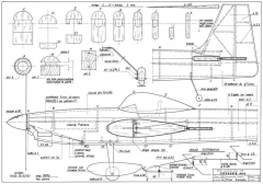 Voyager 60 model airplane plan