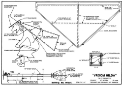 Vroom Hilda model airplane plan