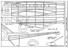 Vultee Transport p1 model airplane plan