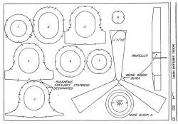 Vultee Transport p3 model airplane plan