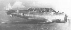 Vultee V-11GB model airplane plan