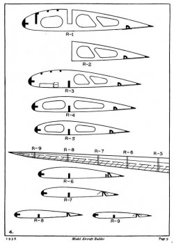 Vultee V-11 Attack p4 model airplane plan