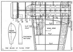 Vultee V-11 Attack p7 model airplane plan