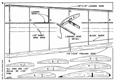 Vultee Valiant p2 model airplane plan