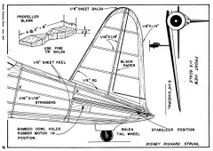 Vultee Valiant p3 model airplane plan