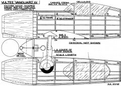 Vultee Vanguard 2 model airplane plan