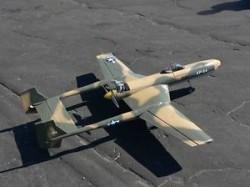 Vultee XP-54 Swoose Goose model airplane plan
