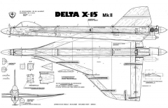 WIK Delta X-15 MKII model airplane plan