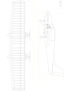 WILDONE Model 1 model airplane plan