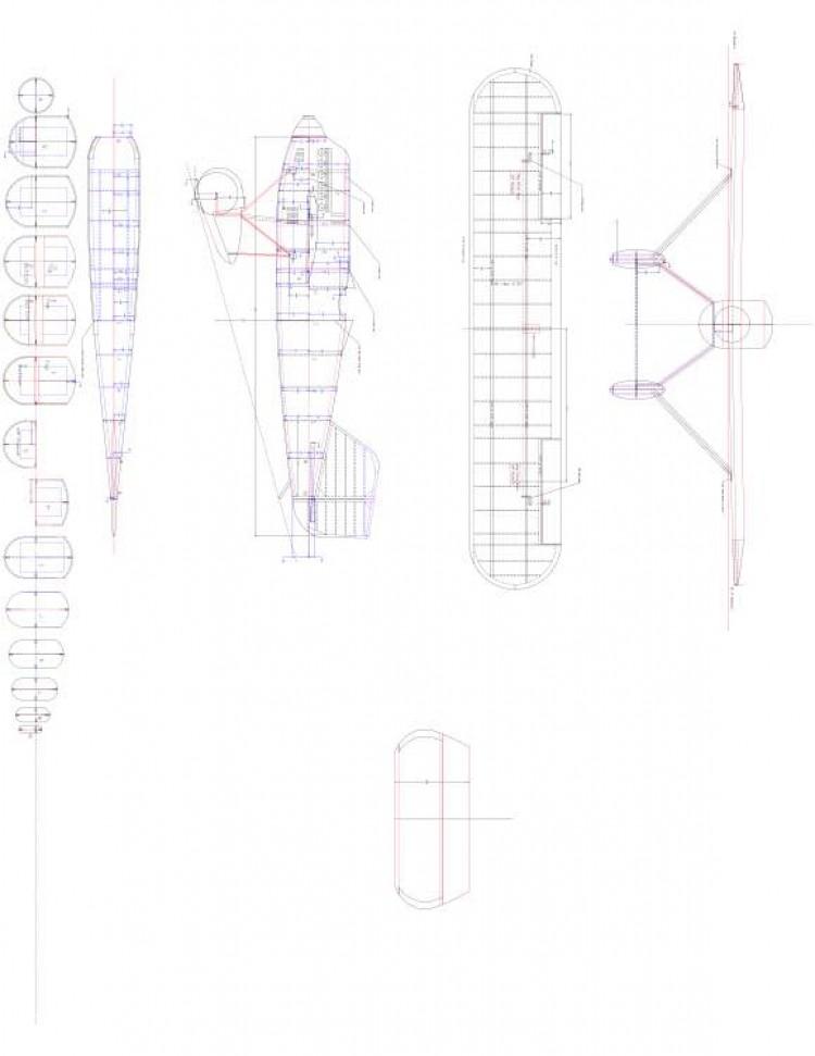 WRIGHT1 Model 1 model airplane plan