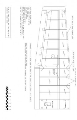 WTF25-3 Model 1 model airplane plan