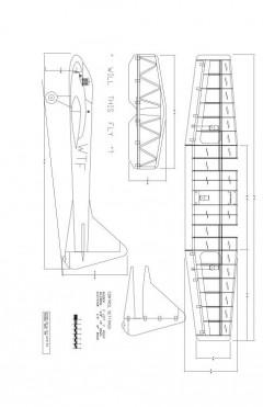 WTF25-8 Model 1 model airplane plan