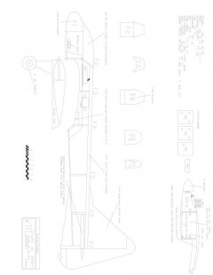 WTF40-8 Model 1 model airplane plan