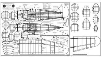 Wackett Boomerang BW Print model airplane plan