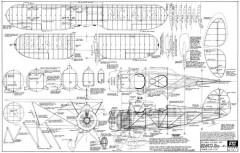 Waco F-3 model airplane plan