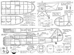 Waco SRE 2 model airplane plan