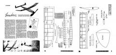 Wanderer 1945 model airplane plan