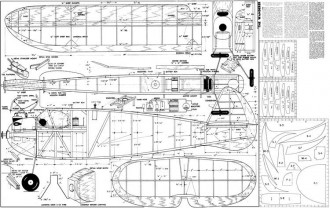 Wanderer JJ model airplane plan