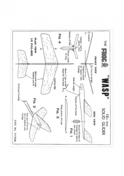 Wasp 2 model airplane plan