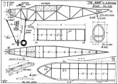 Wasp 3 model airplane plan