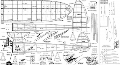 Wasp 4 model airplane plan