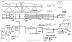 Wasp Wings 34in model airplane plan