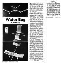 Water Bug-MAN-10-49 model airplane plan