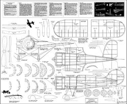 Wedell Williams Racer 2 model airplane plan
